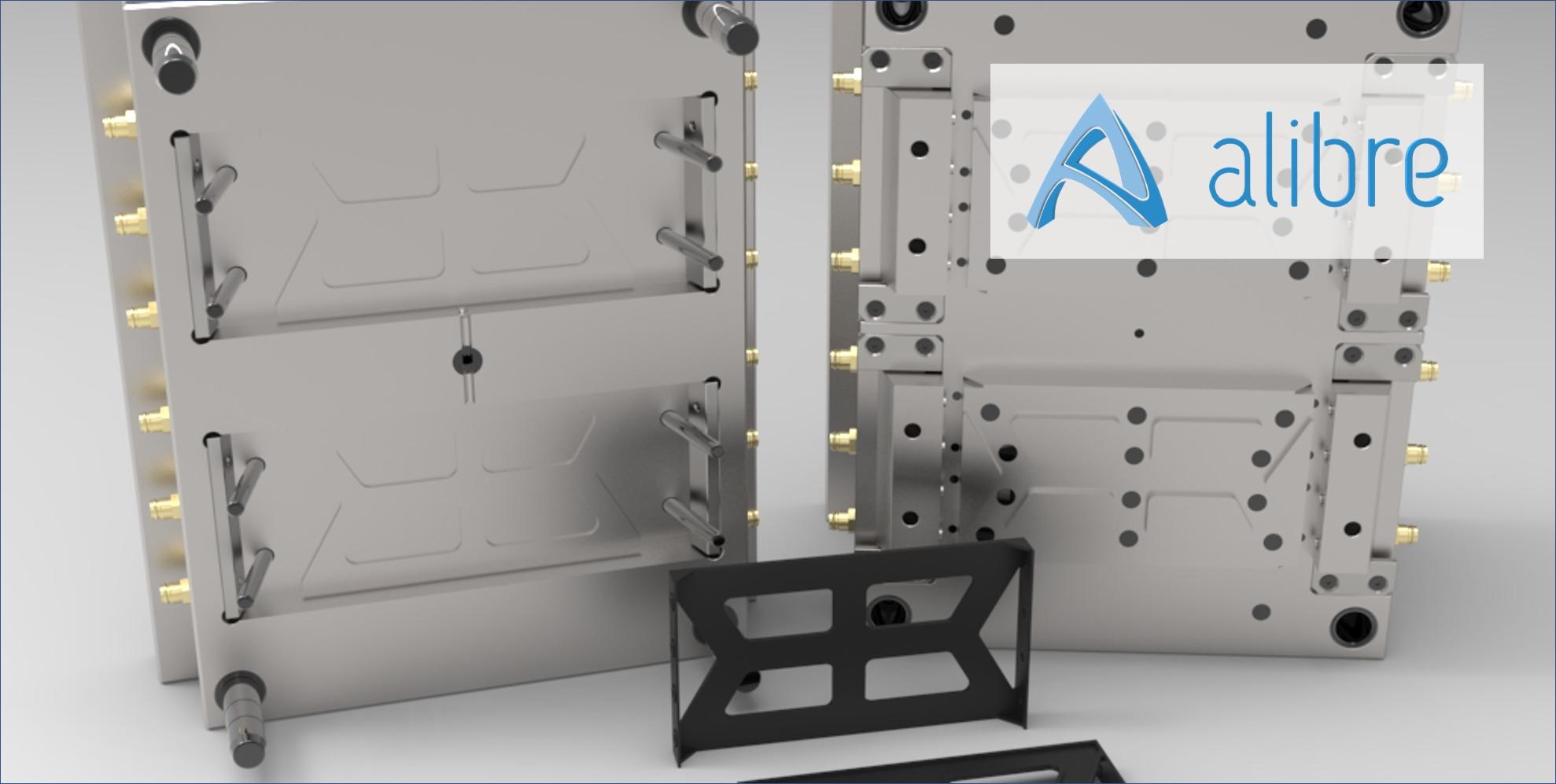 信頼性の高いソリッドデザインカーネルを使用 金型設計などの高アセンブリモデルにも対応
